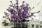 台湾寶安國際機場T3航站樓新增一棵高約5米的全柔性屏大樹「柔樹」