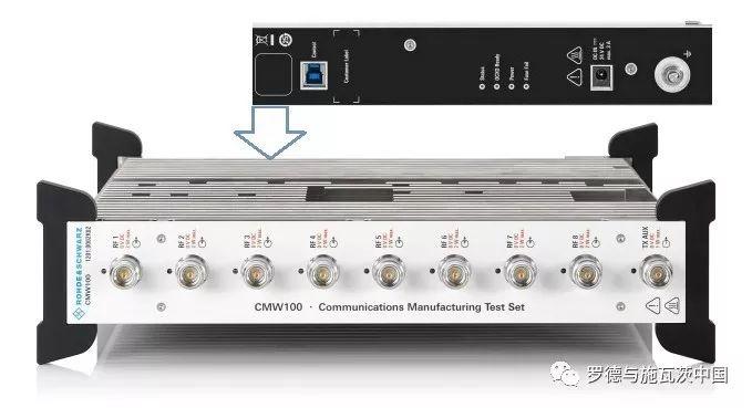 关于R&S®CMW100产线综测仪的性能分析和介绍