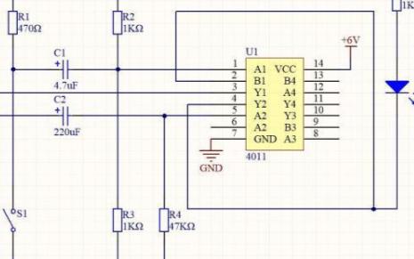 一种无稳态数字电路的自激多谐振荡器