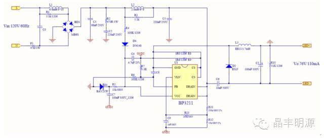 关于BP321X--可控硅调光方案设计的分析