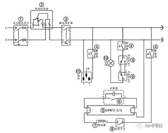 分享8大电工电路原理图