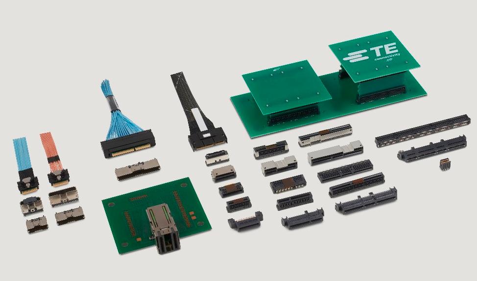 TE Connectivity推新型Sliver跨接式连接器 支持PCIe Gen 5高速数据传输
