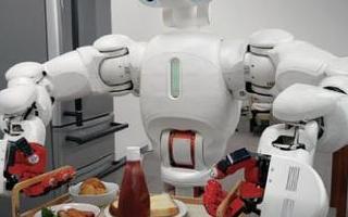 未来生活中机器人会帮你端茶倒水
