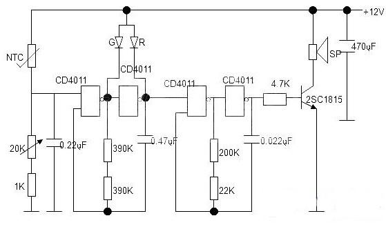 温度报警器的制作与调试过程分析