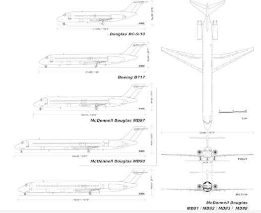 美国你�y道�想和冷兄打上一晨航空宣布旗下¤MD-80机群将于9月初@结束运营退出现役