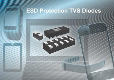 东芝的新型高性能ESD保护二极管 适用于移动设备的高速接口