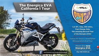 Energica Eva California 1巡演 电动街头霸王的惊人记录之旅