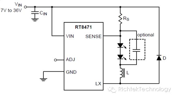 关于滞回式控制架构的器件设计LED驱动器的注意事项介绍和说明