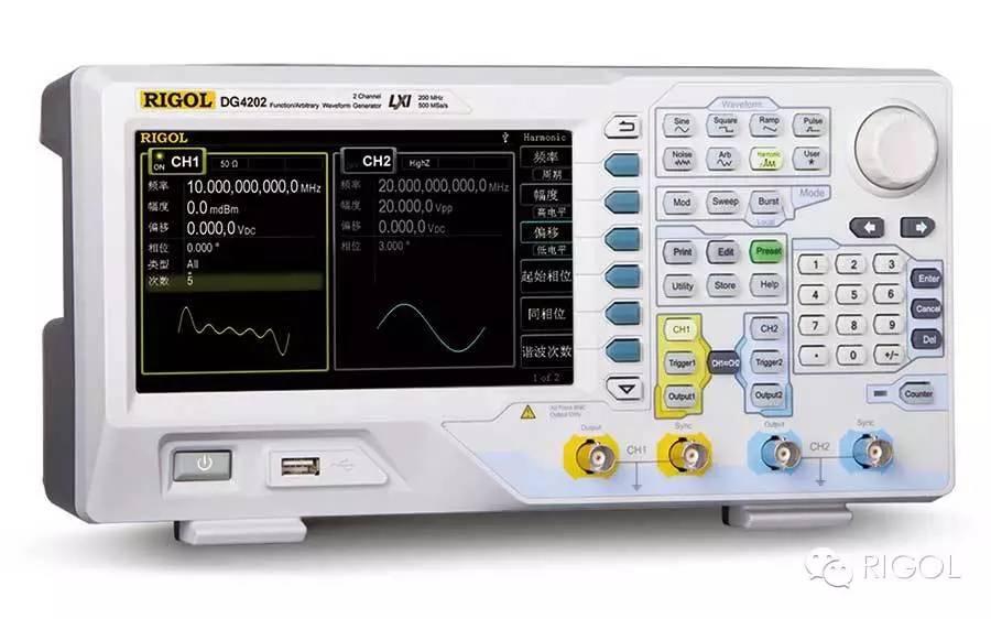 关于DG4系列函数/任意波形发生器的分析和应用