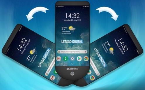 三星三屏設計新專利曝光,GalaxyNote 10系列發售時間公布