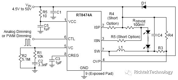 关于Buck架构LED驱动器的OVP原理的分析和介绍