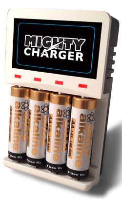 Batteriser是一種電路外殼金屬套管 旨在延長堿性一次性電池的使用壽命