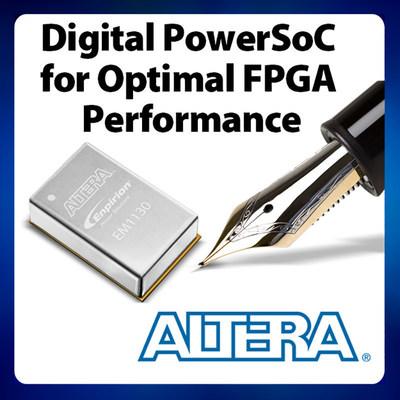 Altera高度集成的Enpirion�源�a品的功能