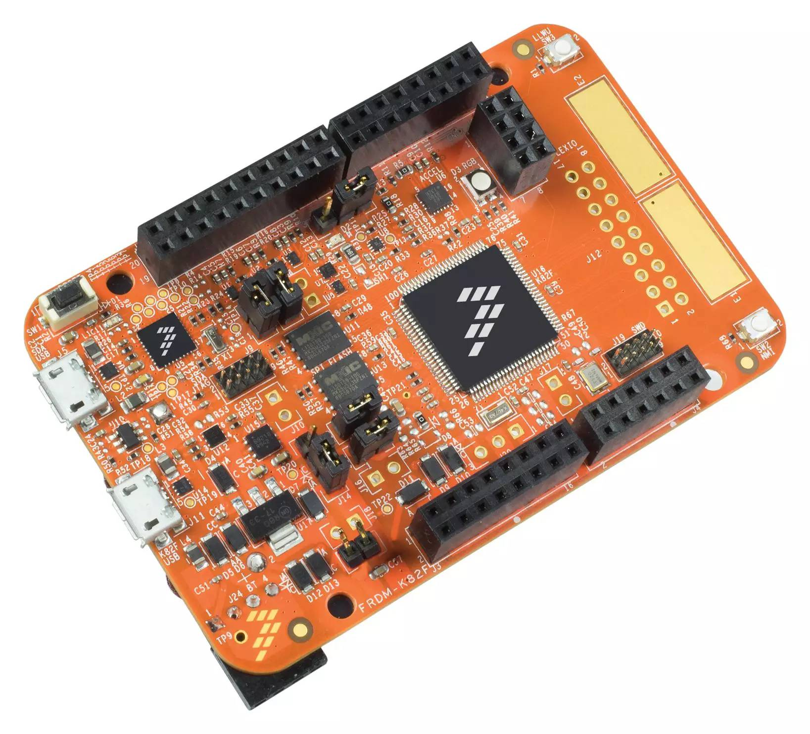 e络盟宣布推出新型恩智浦FRDM-K82F开发板