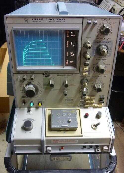 在电子实验室中 如何跟踪晶体管的曲线