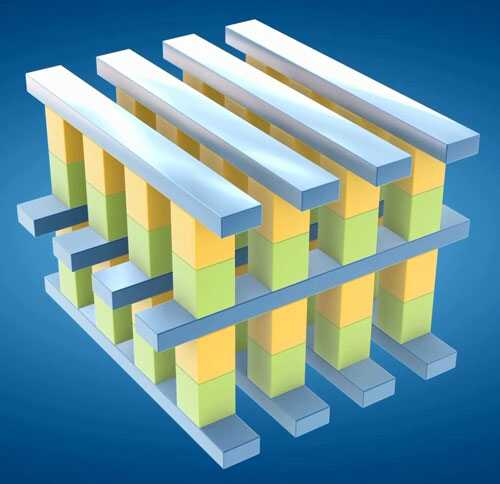 英特爾和美光聯合推出3D交叉點架構高耐久性非易失性存儲器