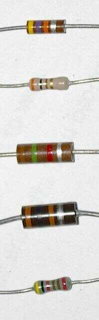 學習電阻器顏色代碼是技術人員必經過程