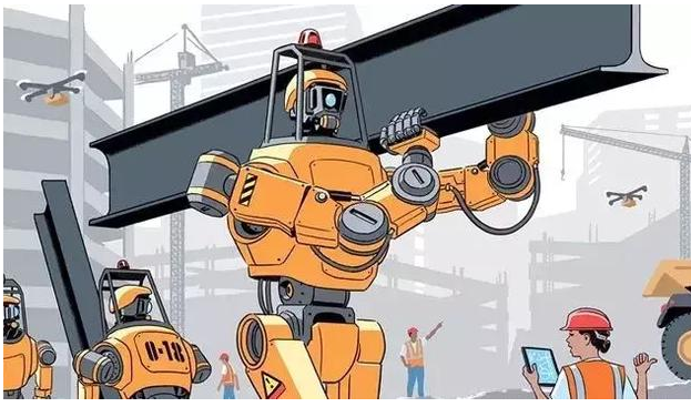 共同工作时占主导的是机器人还是人