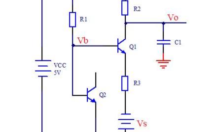 電流采樣之無運算的放大器設計