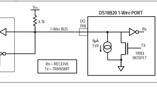 DS18B20数字温度计的数据手册