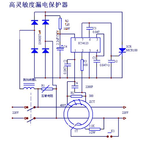 漏电保护器的功能与结构组成