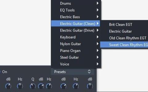 如何在Guitar Pro系统中模拟电子管音响