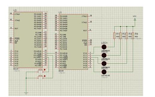 51单片机的 Keil C语言延时程序的简单研究分析