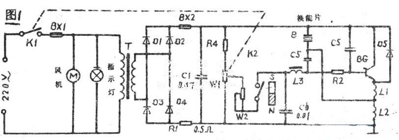 超声波雾化器的工作原理及维修案例分析