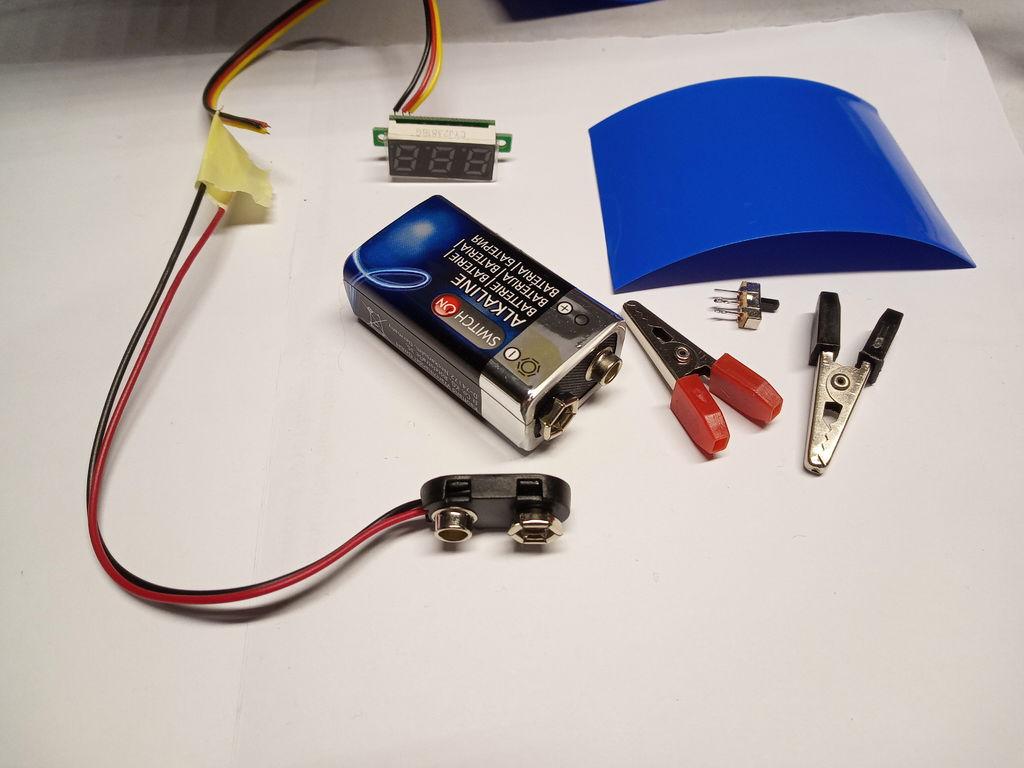 袖珍电压表的制作