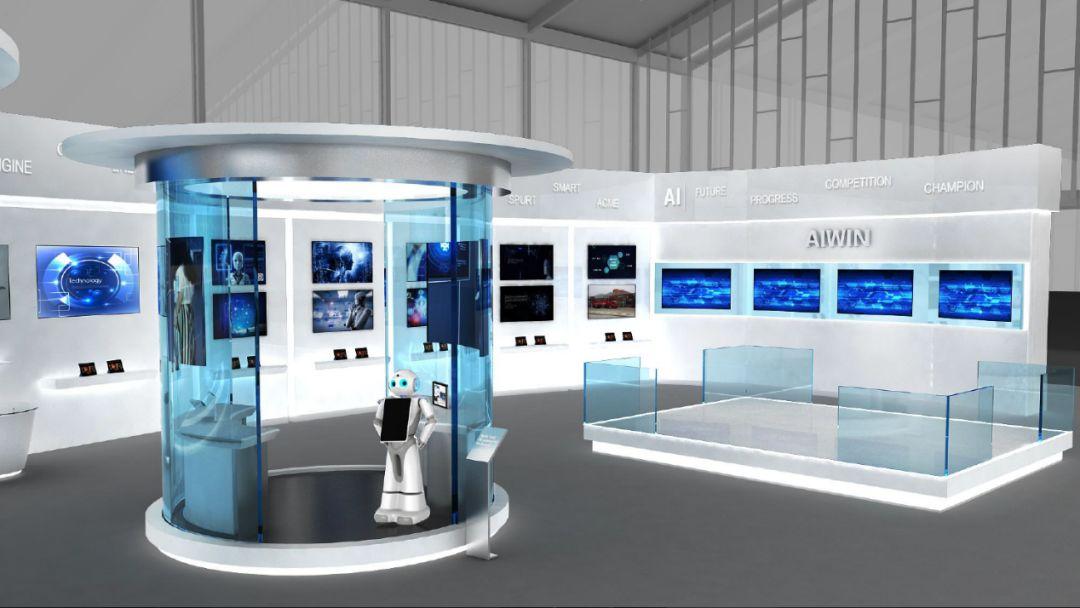 《亚博》回顾云知声于2018世界人工智能大会展区