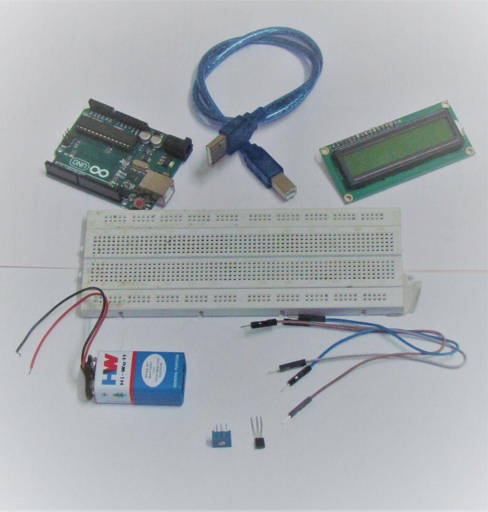 基于Arduino的数字温度传感器的制作