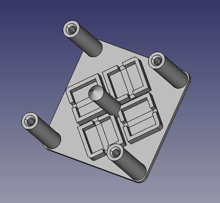 双轴单镜激光束转向模块的制作