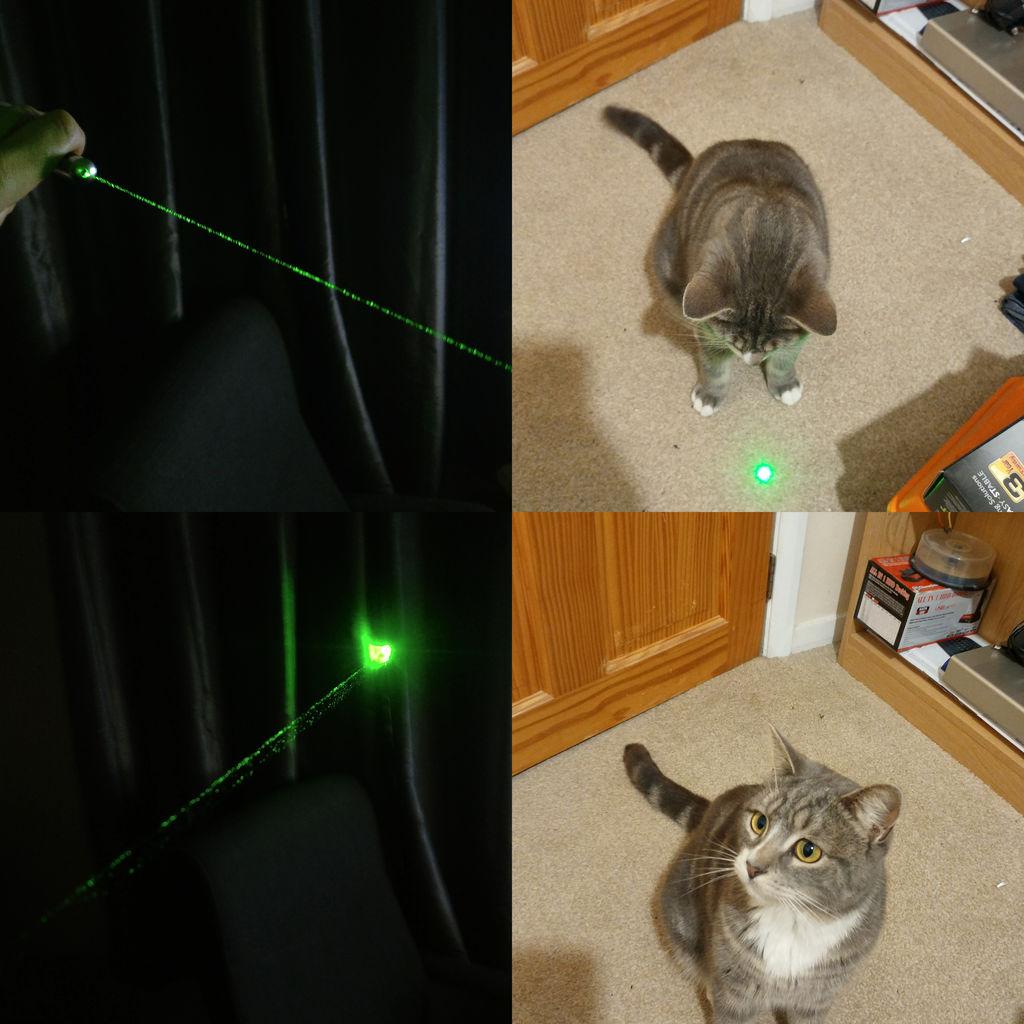 激光波长测量实验