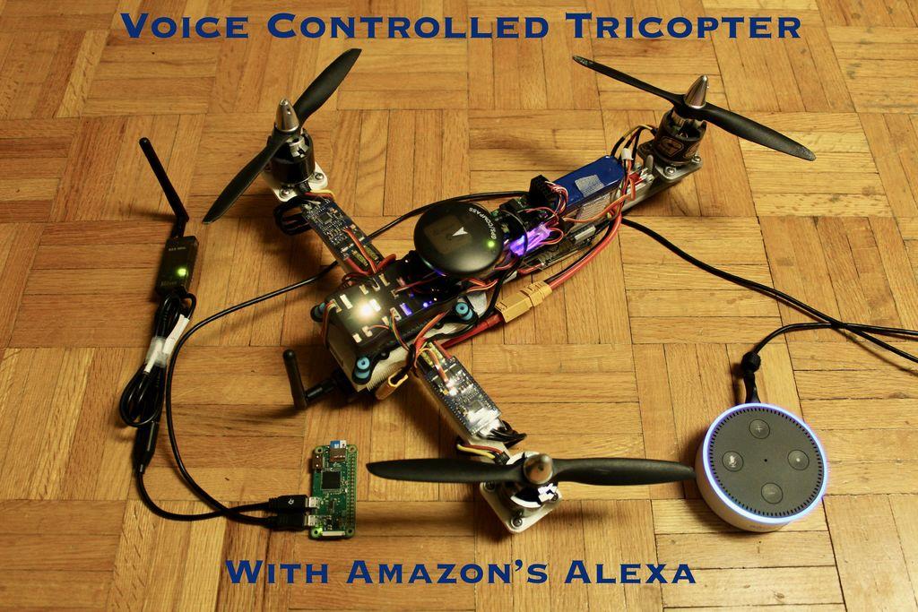 如何制作一款可语音控制的3D打印无人机