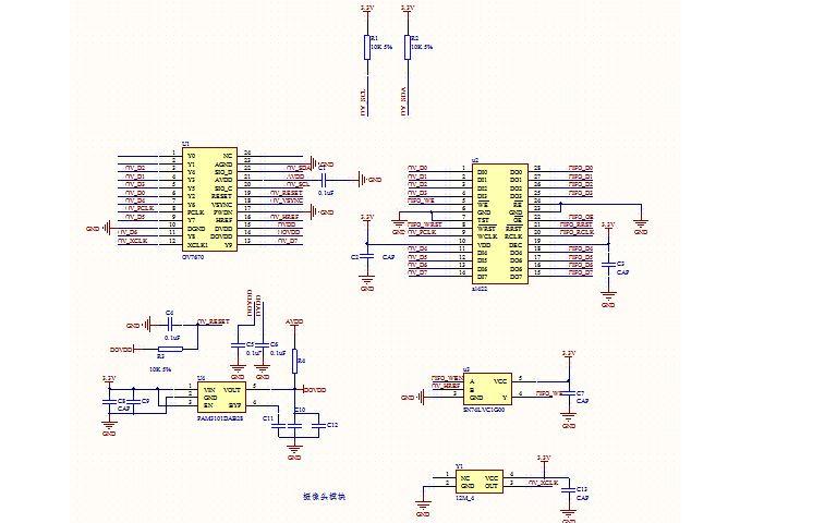 使用STM32單片機驅動OV7670進行圖像的采集的程序和工程文件免費下載