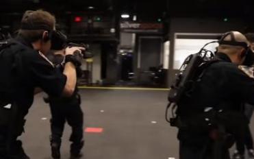 美国将虚拟现实技术用于射击场景的训练