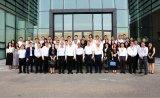 陳振泉帶隊參觀機器人未來體驗館發展、產業布局以及國際化征程