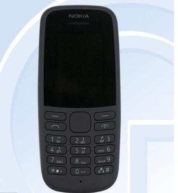 诺基亚105入网工信部采用了800mAh可拆卸电池双卡待机时间可达到18.3天