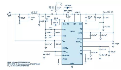 LT8711直流-直流控制器,为工业和汽车应用量身打造!