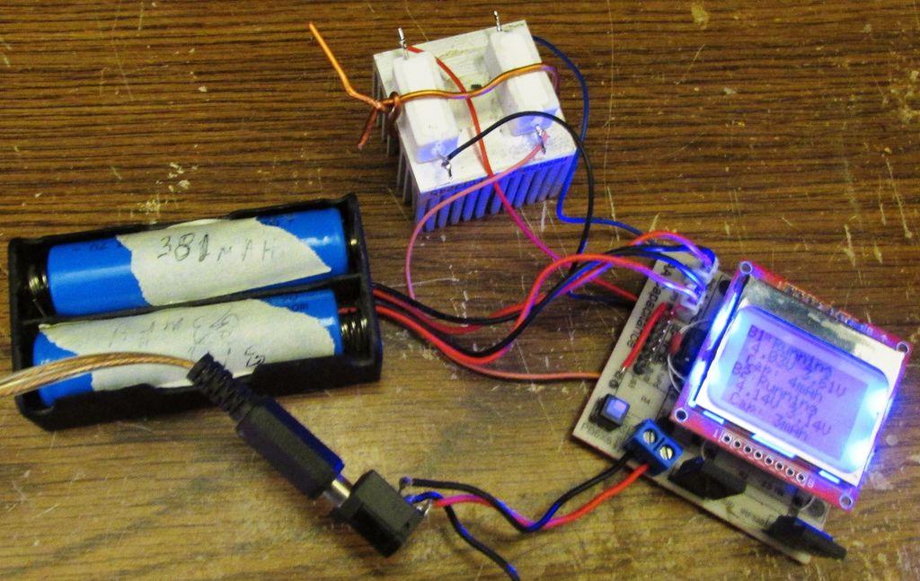 18650电池容量测试仪的制作