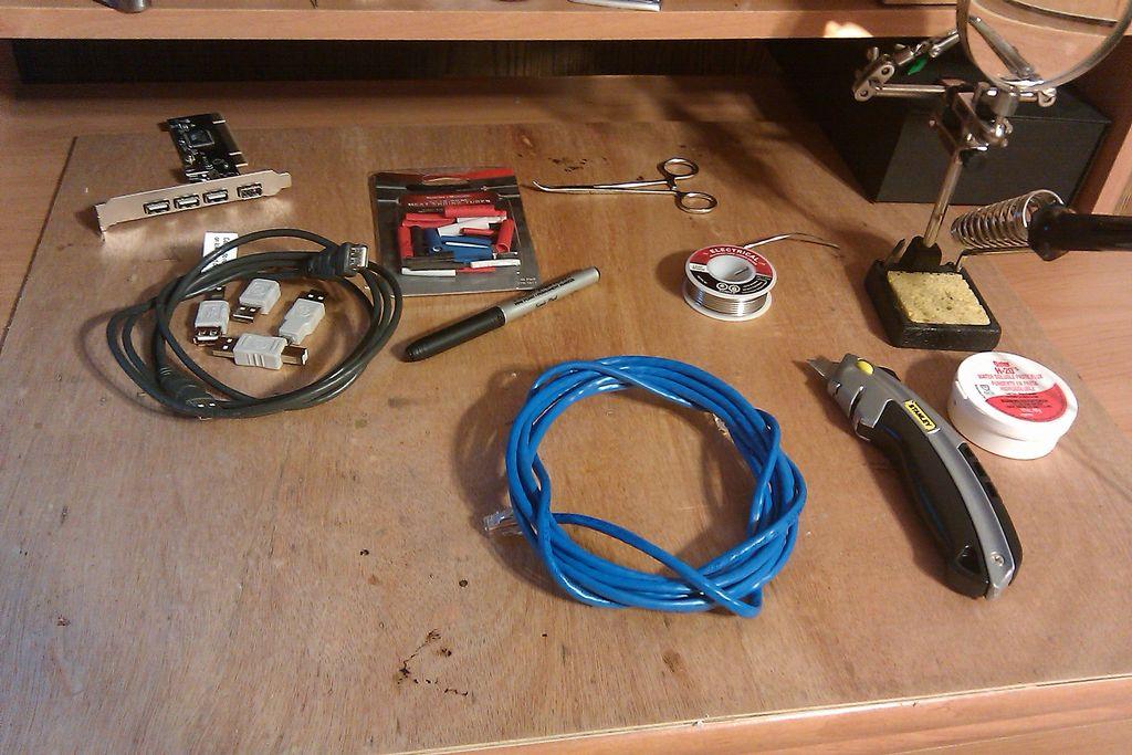 自制USB電纜教程
