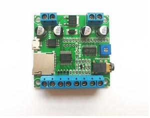 音频解码电路的结构组成及故障检测方法