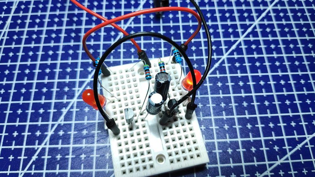 情人节创意电路制作