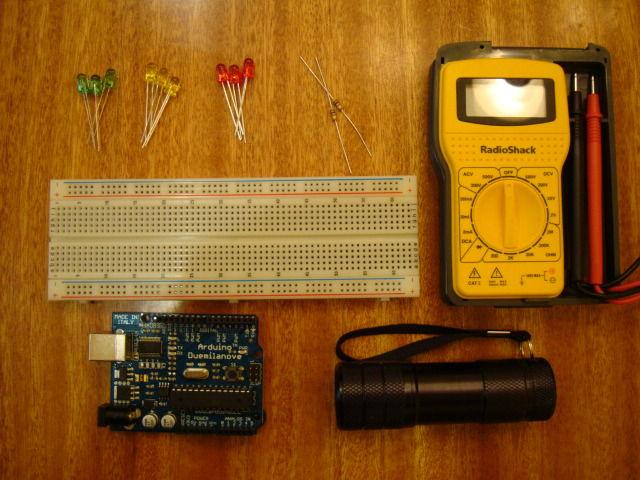 怎样用不同种类的LED作为光传感器