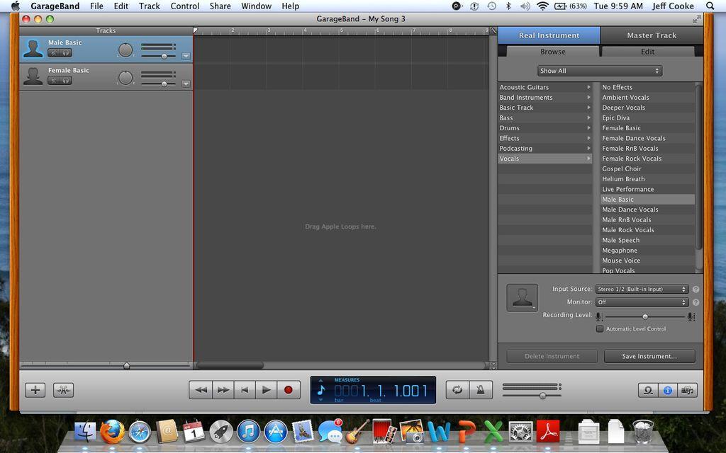 怎样在GarageBand上编辑您的ITunes库中的歌曲