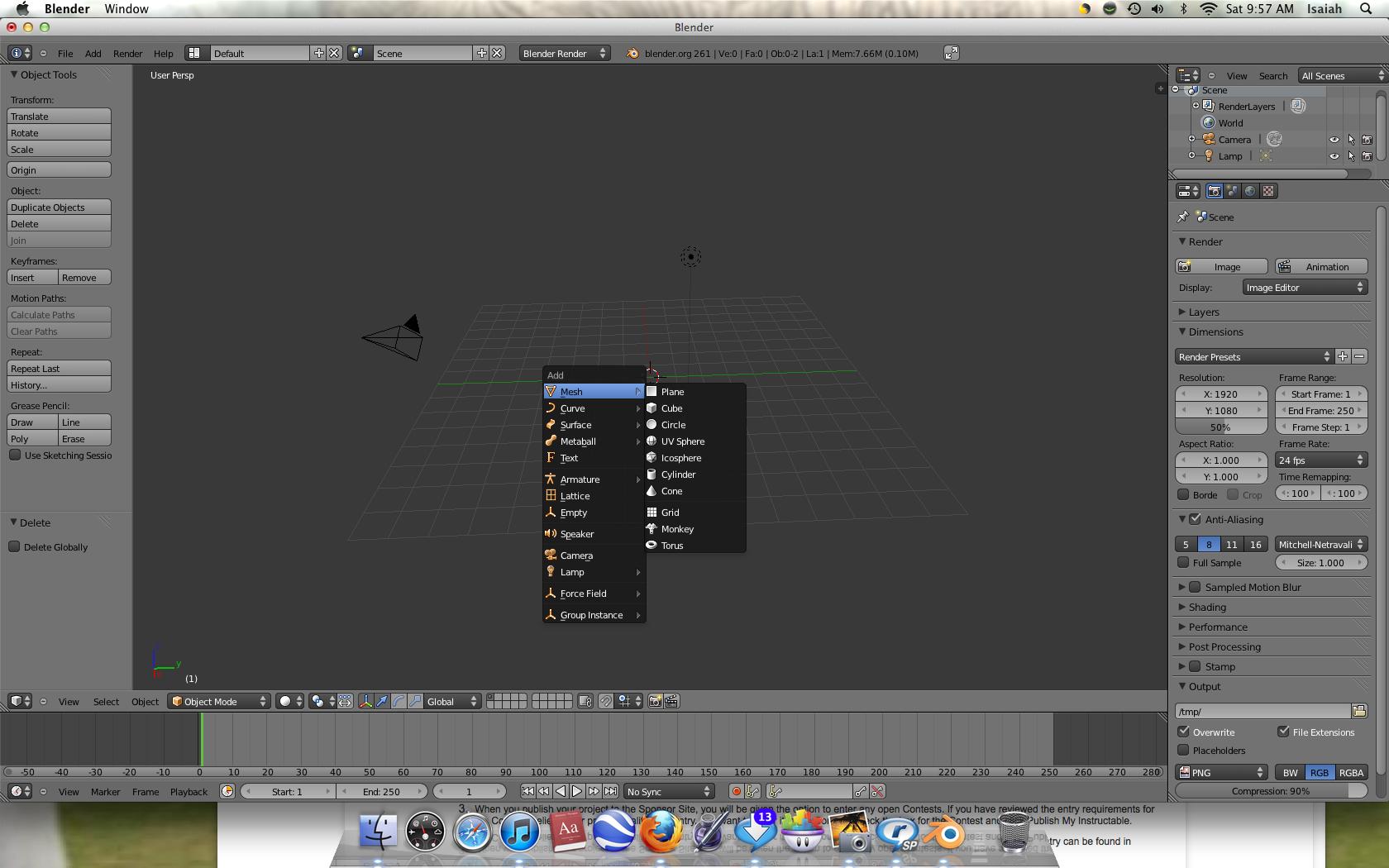 怎样用Blender向对象添加纹理