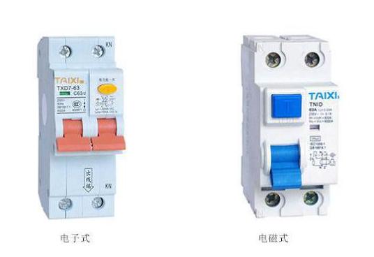 漏电保护器的分类和特点
