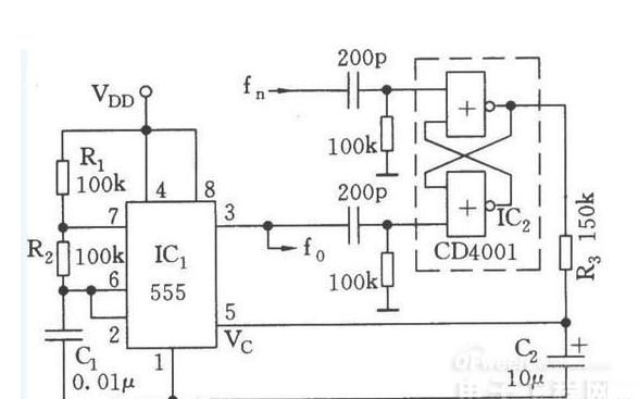 同步振荡器和相干锁相同步振荡器简介