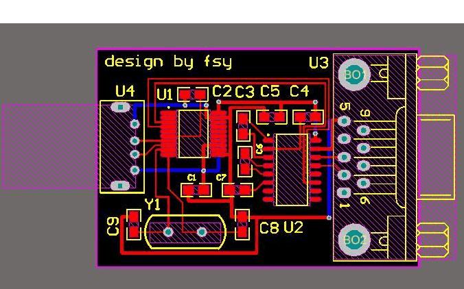 USB原理及PCB封装集成库资料合集免费下载