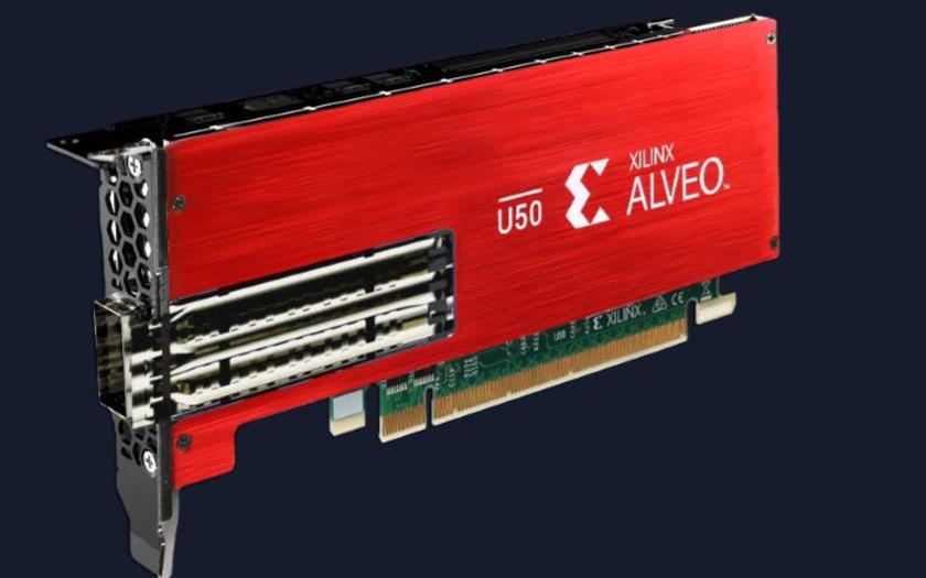 今天发布!详解赛灵思加速卡Alveo U50的轻与重